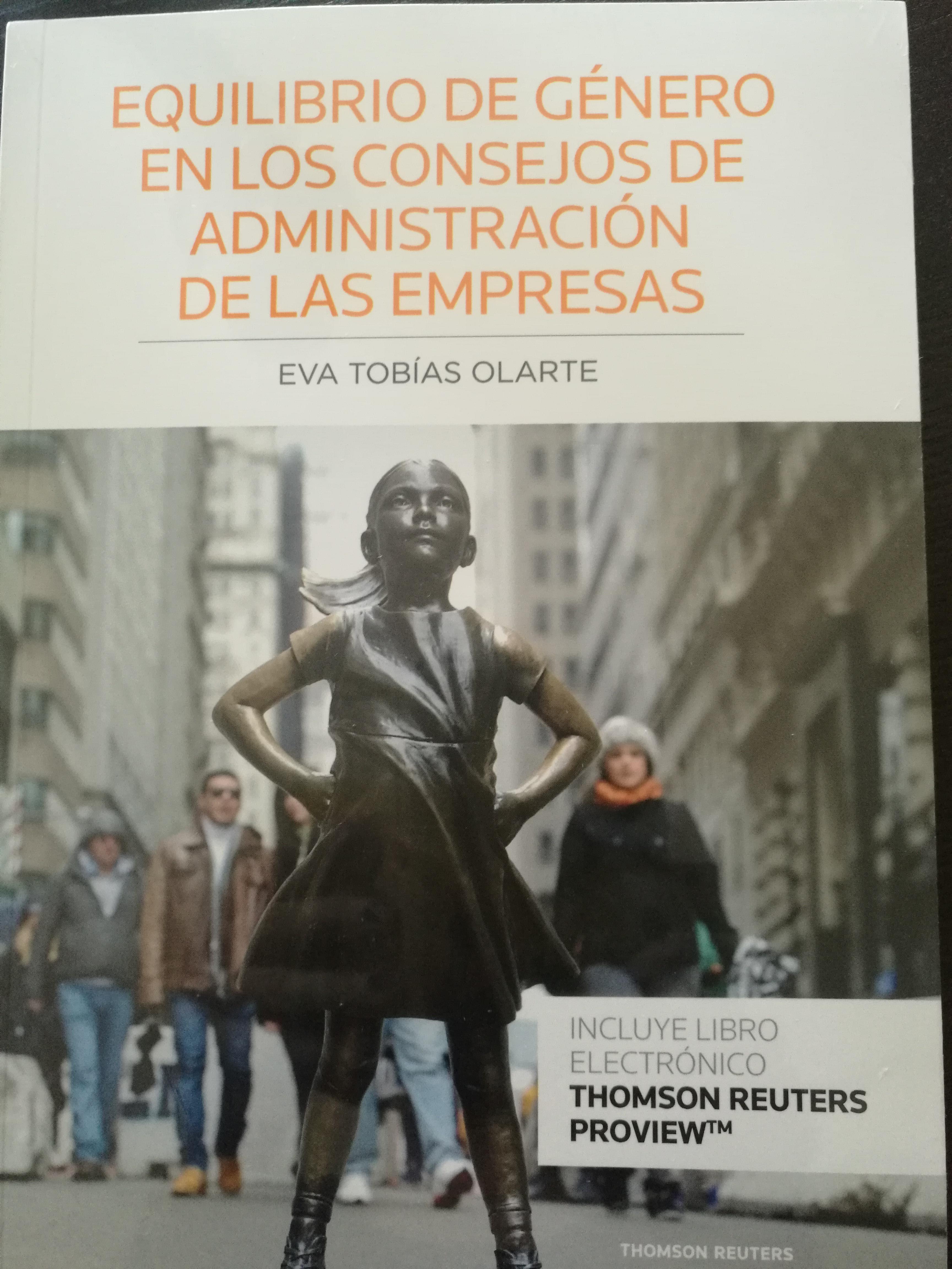 Equilibrio de género en los consejos de administración de las empresas (Editorial Aranzadi)