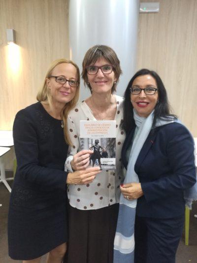 Katharina Miller y Mª Luisa de Contes